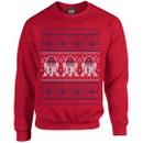 Star Wars Kids' Christmas R2-D2 Sweatshirt - Red
