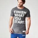 MYPROTEIN 运动表现系列男子训练T恤 - 深灰色