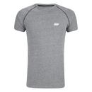 Myprotein 男子运动表现插肩袖 T 恤 - 灰色