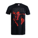 Marvel Spider Strike Men's T-Shirt - Black