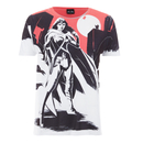 DC Comics Men's Batman V Superman Wonder Woman Scene T-Shirt - White
