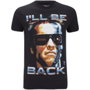 Terminator Men's I'll Be Back T-Shirt - Black
