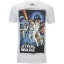 Star Wars Men's New Hope Poster T-Shirt - White