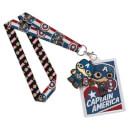 Captain America Pop! Lanyard