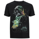 Star Wars: Rogue One Men's Rainbow Effect Darth Vadar T-Shirt - Black
