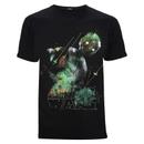 Star Wars: Rogue One Men's Rainbow Effect K-2SO T-Shirt - Black
