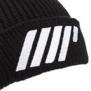 針織毛線帽(黑色)