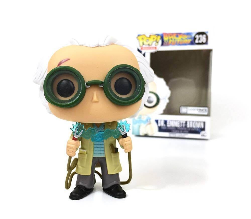 Back To The Future Limited Edition Doc Brown Pop Vinyl