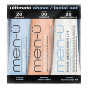 men-ü Ultimate Shave Gesichtspflege-Set (3 x 15ml)