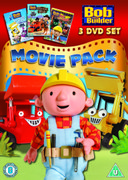 Bob the Builder Movie Pack (Snowed Under / Built to be Wild / Race to Finish)