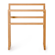 Wireworks Arena Bamboo Towel Rail