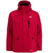 Trespass Men's Corvo Waterproof Jacket - Red