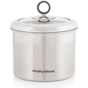 Morphy Richards Accents Small Storage Canister - Stainless Steel