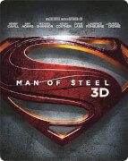 Man of Steel 3D - Limited Edition Steelbook (Inclusief 2D Versie en UltraViolet Copy)