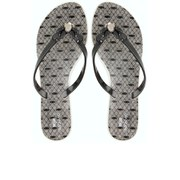Jason Wu for Melissa Women's Harmonic Crystal Flip Flops - Black Lace