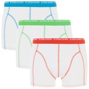 Bjorn Borg Men's 3 Pack Boxers - White