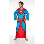 DC Comic Superman Lounger voor Volwassenen (Mannen) - Rood