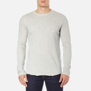 Edwin Men's Terry Long Sleeve T-Shirt - Grey Marl