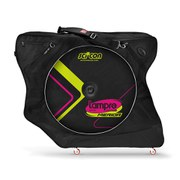 Scicon AeroComfort 2.0 TSA Bike Bag Padlock and External Lateral Shields - Black - Lampre Merida Team Edition