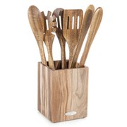Natural Life Acacia Wood 5pc Tool Set