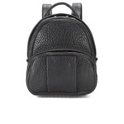Alexander Wang Women's Dumbo Pebble Leather Backpack - Black/Rose Gold Hardware