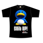 Penguin SUIT UP - T-Shirt Men's (Black)