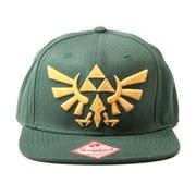 Zelda - Snapback Cap (Green/Gold)