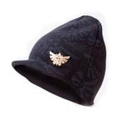 The Legend Of Zelda - Billed Beanie Hat (Black/Metal Badge)