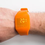 50Fifty Concepts Blink Time Watch - Orange