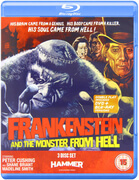 Frankenstein and The Monster From Hell (Includes DVD)