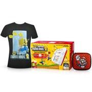 Super Mario Bros. 2 Nintendo 2DS Pack (Medium T-Shirt) MBlack