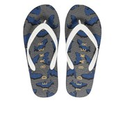 Ted Baker Men's Flyxx 2 Flip Flops - Dark Blue Geo