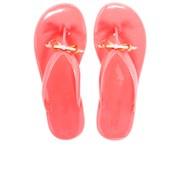 Ted Baker Women's Heebei Jelly Flip Flops - Orange