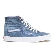 Vans Men's California SK8-Hi Reissue Vintage Sunfade Hi-Top Trainers - Dress Blue