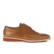 Paul Smith Shoes Men's Kordan Leather Wedged Brogues - Cuoio Tan