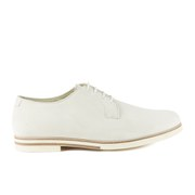 Mr Hare Men's Bux Suede Derby Shoes - White