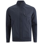 BOSS Orange Men's Zidanne Full Zip-Through Sweatshirt - Navy