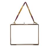 "Nkuku Kiko Glass Frame - Antique Copper - Landscape 5"" x 7"" (13 x 18cm)"