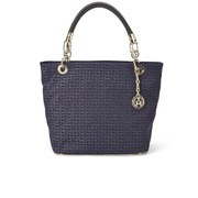 Tommy Hilfiger Elisabetta Signature Tote Bag - Black/Midnight