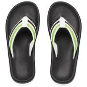 BOSS Green Men's Shoreline Water Flat Sandals - Black