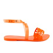 Melissa Women's Tasty Flat Sandals - Orange Neon