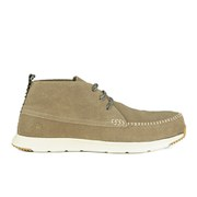 Ransom Men's Alta Mid Suede Chukka Trainers - Deep Tan/Light Bone