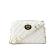 Love Moschino Women's Quilted Cross Body Bag - Ivory