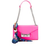 Love Moschino Women's Saffiano Shoulder Bag - Pink
