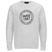 A.P.C. Men's Paris 87 Sweatshirt - White