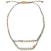 Venessa Arizaga Women's Drug of Choice Necklace - Rainbow