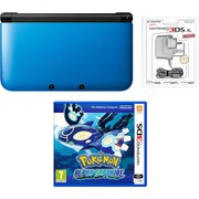 Nintendo 3DS XL Blue/Black Pokémon Alpha Sapphire Pack