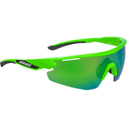 Salice 012 RW Sports Sunglasses - Green-Black/Green