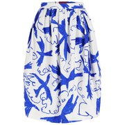 Vivienne Westwood Red Label Women's Alien Pencil Skirt - Bird Print