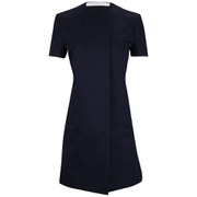 Victoria Beckham Women's Cap Sleeve Coat - Navy